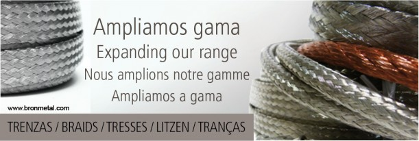 Ampliamos Gama Trezas Conexiones Flexibles Bronmetal