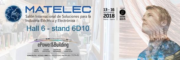 Matelec 2018 ifema feria madrid solucion industria electrica cobre bronmetal portada