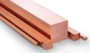 Round and square copper bars