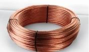 Cable de cobre en rollo