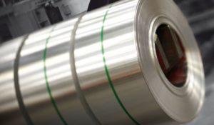 Fleje de aluminio para transformadores