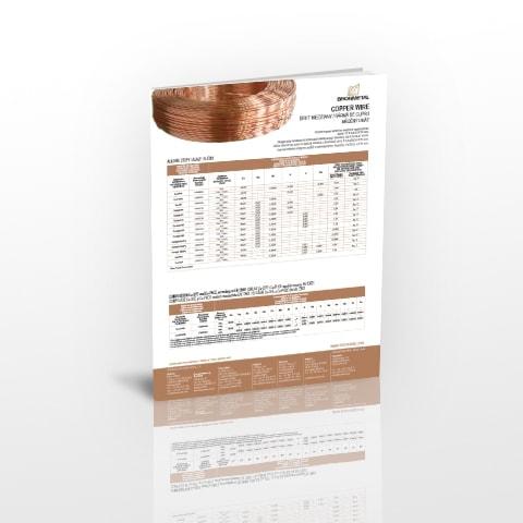 Ficha Técnica  alambre de cobre