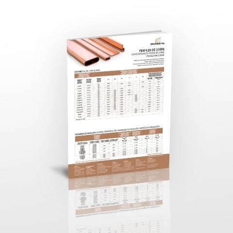 Ficha Técnica perfiles de cobre V1
