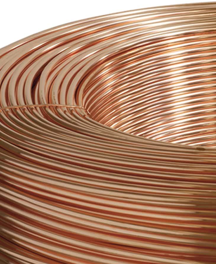 Arame de liga de cobre