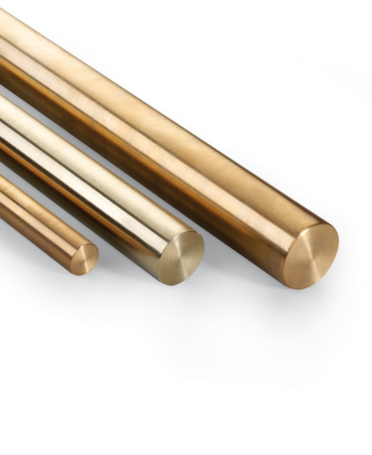 Barres en bronze