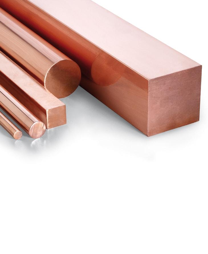 Suministro de Barra de cobre