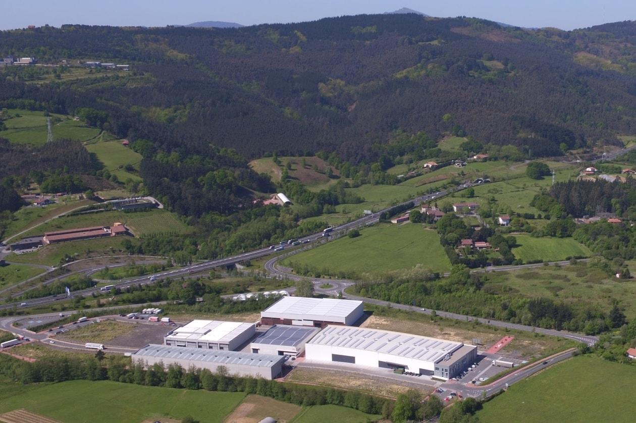Larrabetzu, instalaciones Bronmetal