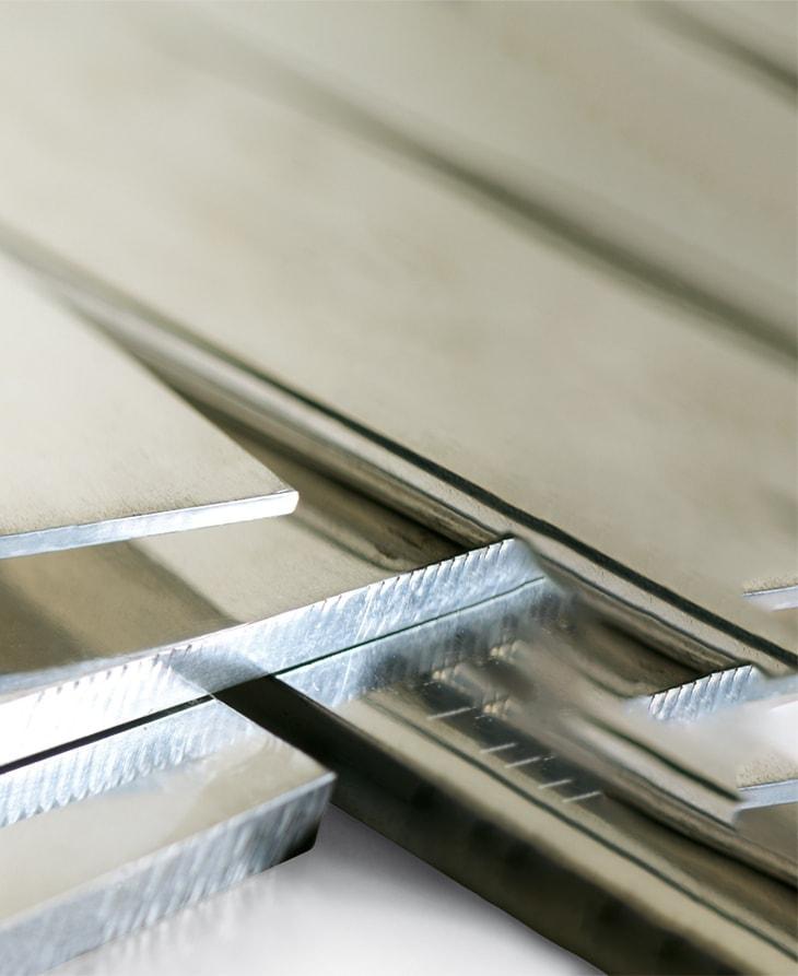 Tinned copper flat bars