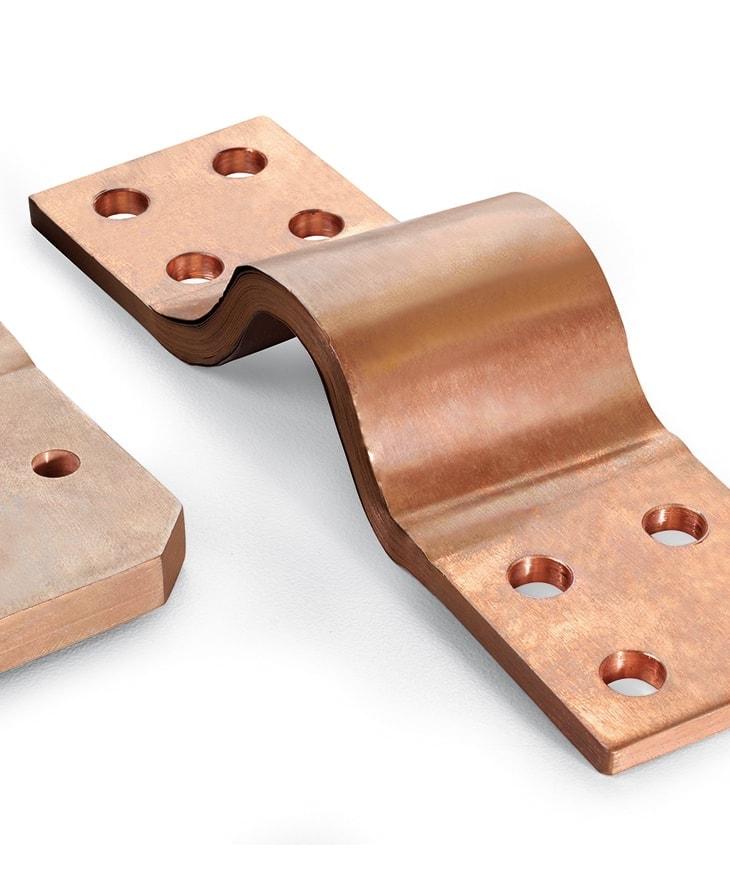 Shunt, conexiones, laminas para conexiones flexibles