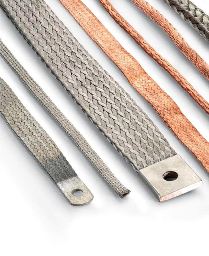 Trenzas: conexiones flexibles tipo trenza