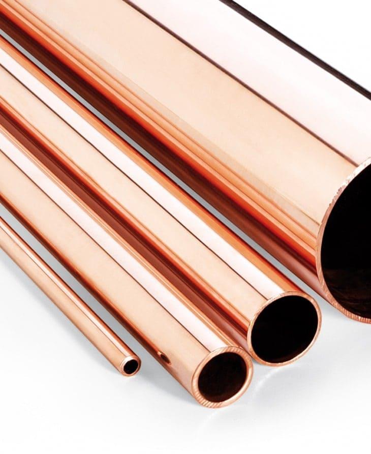 Tubes industriels de cuivre pour applications générales