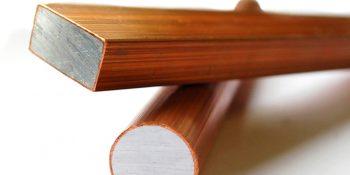 Barre bimétallique CCA