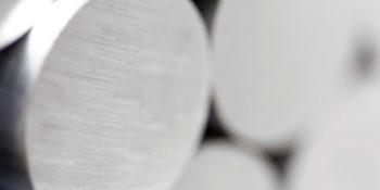 Barre en aluminium