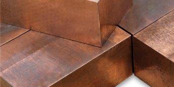 Piezas forjadas de cobre