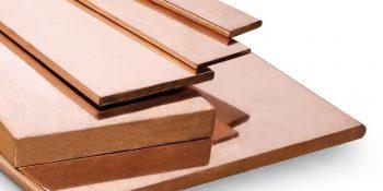 Copper alloy flat bar