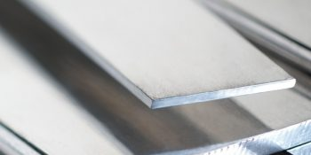Silver-finish copper flat bars